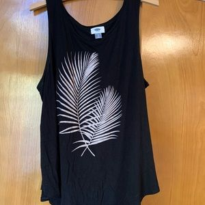 Old Navy Tops - Old navy feather blank tank top